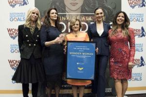 Embaixadora da ONU para o empoderamento de mulheres e meninas