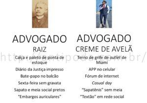 "Advogado Raiz e ""Creme de Avelã"""