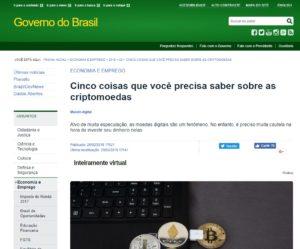 Publicação do Governo do Brasil